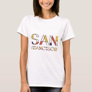 San Francisco künstlerisch, neoplasticism Art T-Shirt