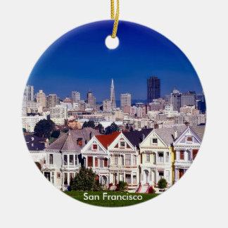 San Francisco landschaftliche Kreis-Verzierung Keramik Ornament