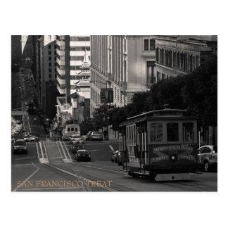 San Francisco Leckerei Postkarten