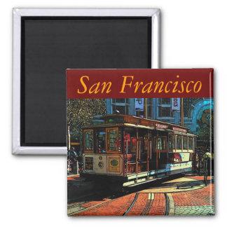 San Francisco Magnet Kühlschrankmagnet