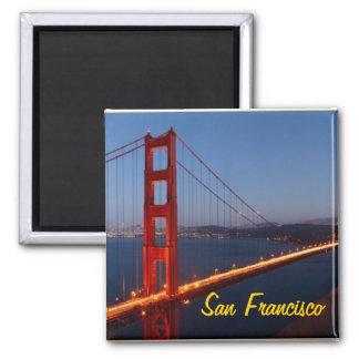 San Francisco Magnet Quadratischer Magnet