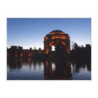 San Francisco Palast der feine Kunst-Leinwand Leinwanddruck