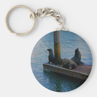 San Francisco Pier 39 #3-4 Keychain Schlüsselanhänger