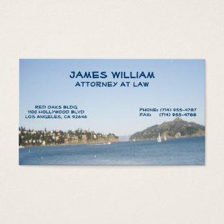 San Francisco Rechtsanwalts-Visitenkarten Visitenkarte