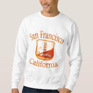 San Francisco rotes Gelb Sweatshirt