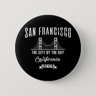 San Francisco Runder Button 5,1 Cm