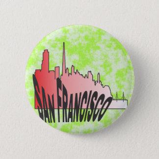 San Francisco Runder Button 5,7 Cm