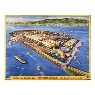 San Francisco Schatz-Insel Postkarte