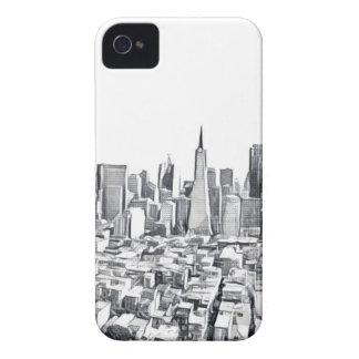 San Francisco SF Citiscape Fotografie iPhone 4 Cover
