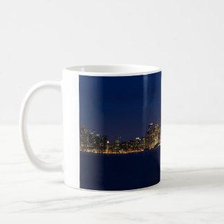 San Francisco Skyline an der Dämmerung Kaffeetasse