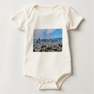 San Francisco Skyline Baby Strampler