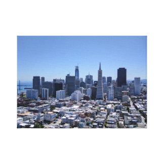 San Francisco Skyline Leinwanddruck