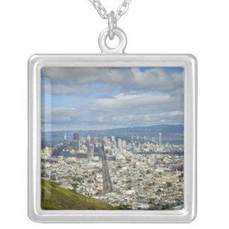 San Francisco Skyline Versilberte Kette