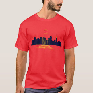 San Francisco Sonnenuntergang T-Shirt