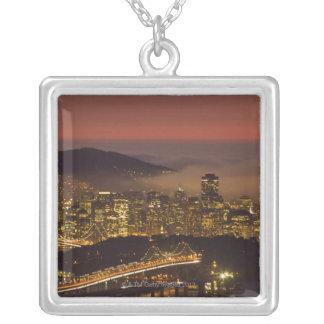 San Francisco Stadtbild Versilberte Kette