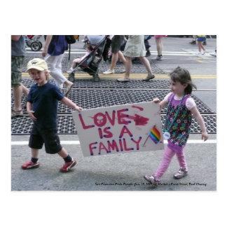 San Francisco Stolz-Parade… Postkarte