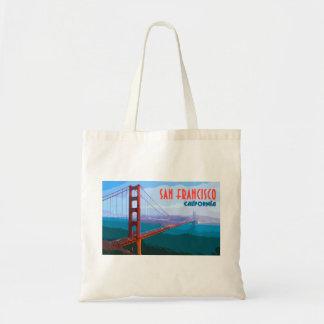 San Francisco Vintage Reise-Taschen-Einkaufstasche Tragetasche