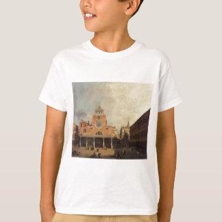 San Giacomo de Rialto durch Canaletto T-Shirt