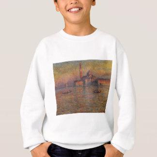 San Giorgio Maggiore 2 durch Claude Monet Sweatshirt