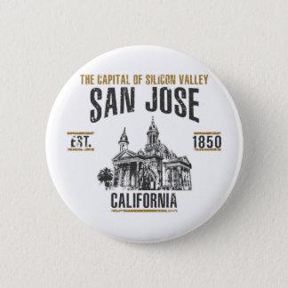 San Jose Runder Button 5,1 Cm