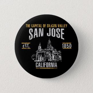 San Jose Runder Button 5,7 Cm