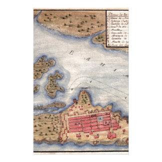 San Juan 1770 Briefpapier