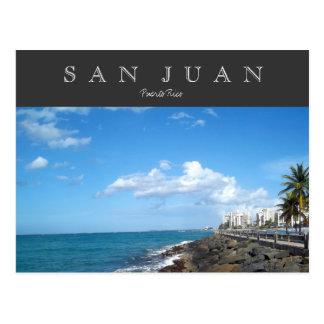 San Juan, Puerto Rico Postkarte