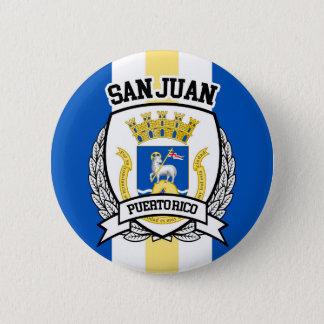 San Juan Runder Button 5,1 Cm