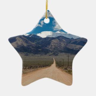 San Luis-Tal-Rückseiten-Straßen-Kreuzen Keramik Ornament