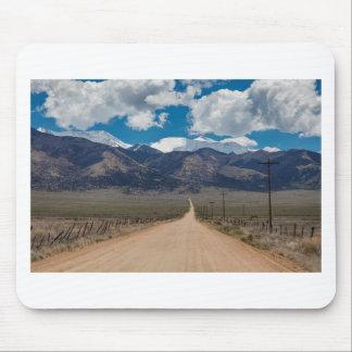 San Luis-Tal-Rückseiten-Straßen-Kreuzen Mousepad