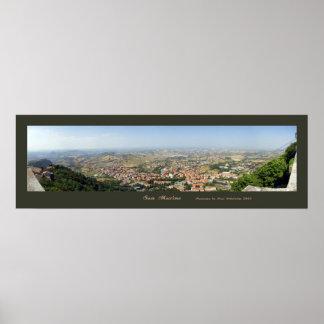 San Marino Posterdrucke