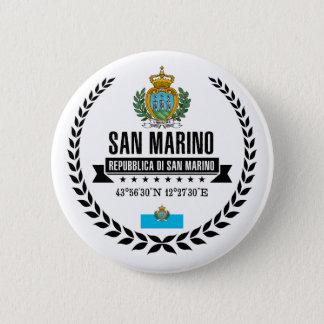San Marino Runder Button 5,1 Cm