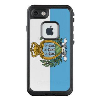 San- Marinoflagge LifeProof FRÄ' iPhone 8/7 Hülle