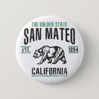 San Mateo Runder Button 5,7 Cm