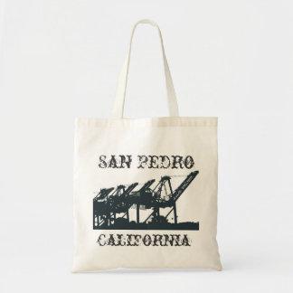 San- Pedrohafen streckt Tasche