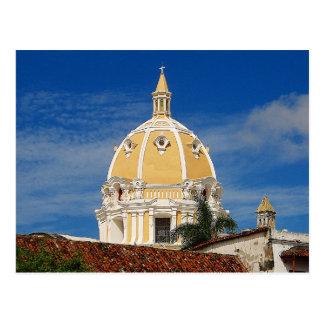 San- Pedrokathedralen-Cartagena-Reise-Postkarte Postkarte