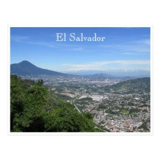 San Salvador entfernt Postkarte