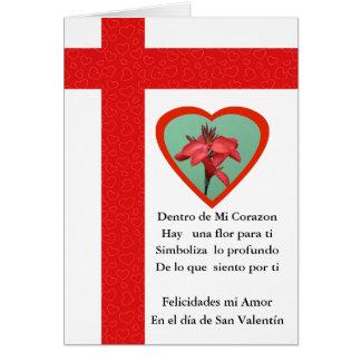 San Valentin Amor de mi Corazon Karte