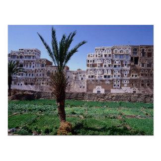 Sana'a, der Jemen Postkarte