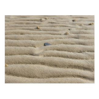 Sand an der Nordsee Postkarte