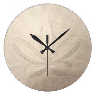 Sand-Dollar-runde Uhr