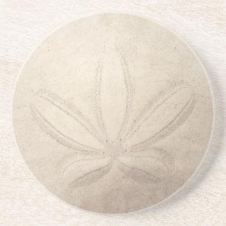 Sand-Dollar-Untersetzer Sandstein Untersetzer