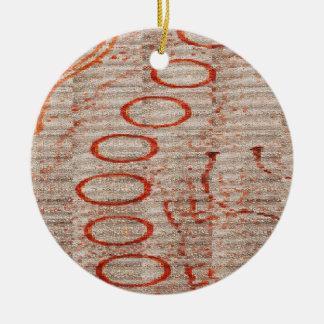 Sand hallt #3 wider rundes keramik ornament