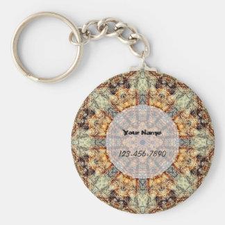 Sand-Mandala Schlüsselanhänger