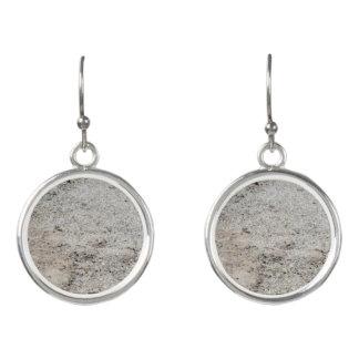 Sand-Muster-Tropfen-Ohrringe Ohrringe