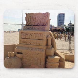 Sand-Spielautomat Mousepad