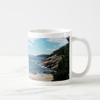 Sand-Strand, Mt.-einsame Insel Kaffeetasse