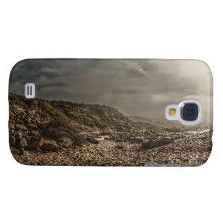Sand-und des Himmel-4 klarer starker Kasten Galaxy S4 Hülle