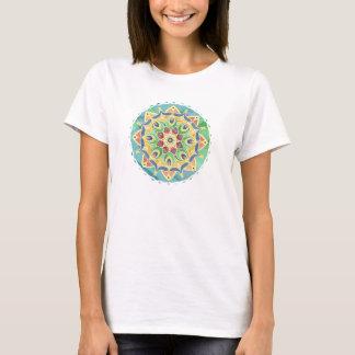 Sand-und SilkpastellMandala-T-Shirt T-Shirt
