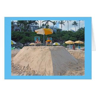 Sandcastle Karte